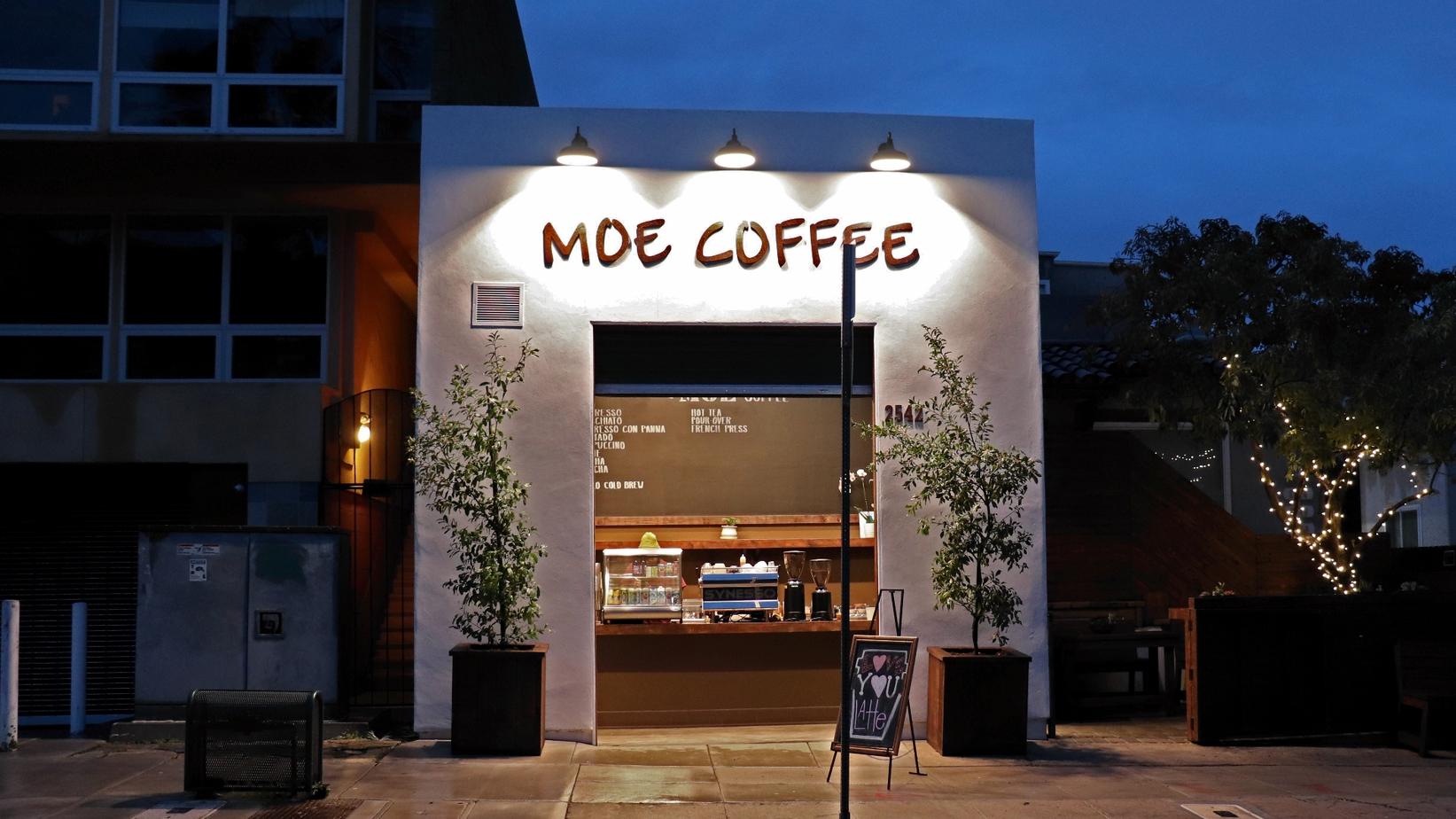 Moe Coffee - Best Coffee Shop in San Diego Little Italy
